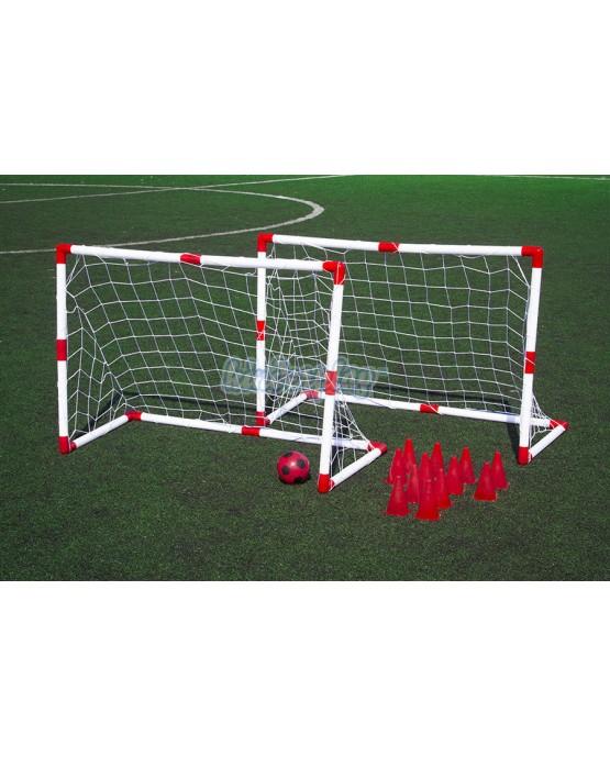 KP6749 Football gate set, 2 goals, bal