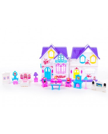 KP8260 Doll's house  Door Bell Dolls Furniture Accessories Folding