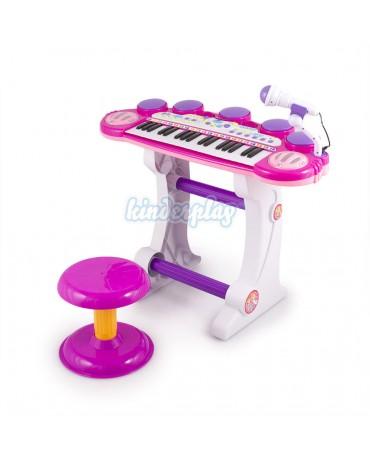 KP5728PIN Children Piano Toy Keyboard PINK musical instrument children NEW