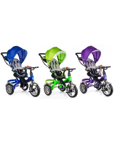 KIDS RIDE 3 WHEEL BABY TRICYCLE STROLLER BUGGY PUSH BIKE KINDERPLAY KP0565