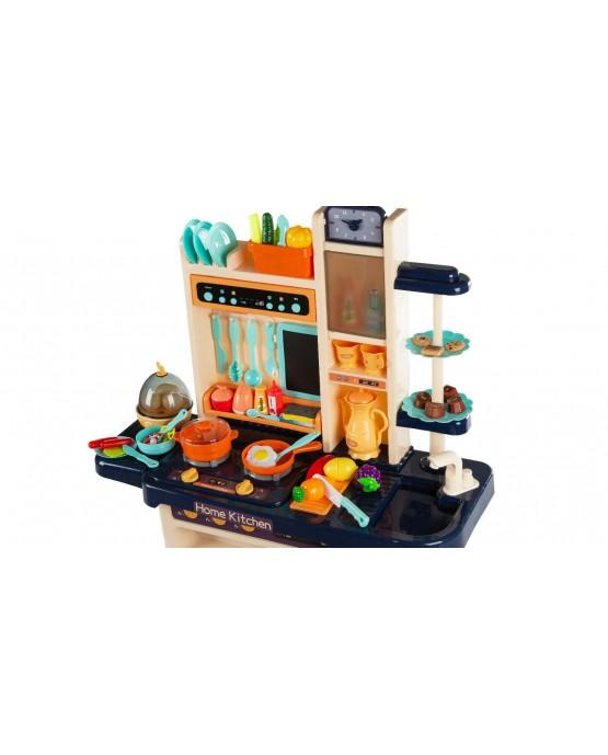 KINDERPLAY large kitchen kids + vapor + sound cooking pretend cooker accessories