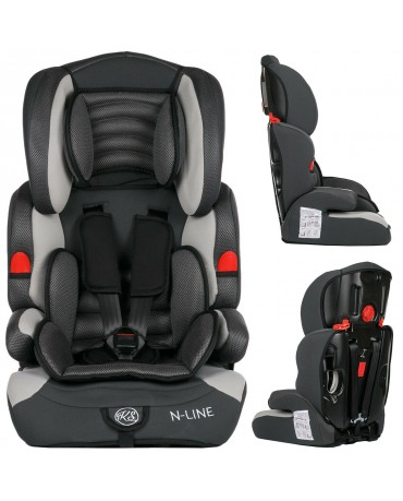 3 in 1 Child Baby Car Seat Safety Booster For Group 1/2/3 9-36kg ECE R44/04 KP0039