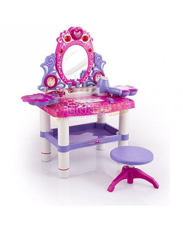 KP2798 BRAND NEW VIOLET Dressing Beautucial Make Up Table Princess Mirror  TOY