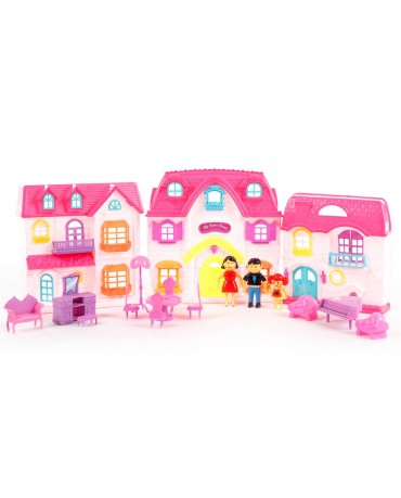 KP8628 Doll's house  Family Dolls Furniture Accessories