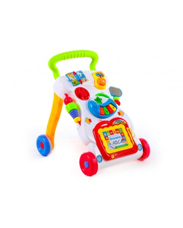 KP1047 Baby Walker Sounds & Lights Push Along Walker First Steps