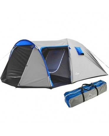 4 PERSON CAMPING TENT LARGE CA0013GRY