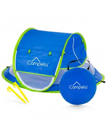 CAMPELA BABY TRAVEL BEACH TENT FOR BABIES  SELF-FOLDING POP-UP