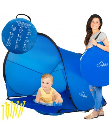 INFANT PROTECTION  BEACH TENT WITH POOL  POP-UP