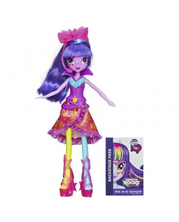 MY LITTLE PONY EQUESTRIA GIRLS TWILIGHT SPARKLE RAINBOW ROCKS HASBRO