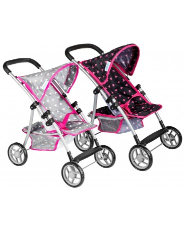 KINDERPLAY DOLL PRAM STROLLER GIRLS TOY FOLDING
