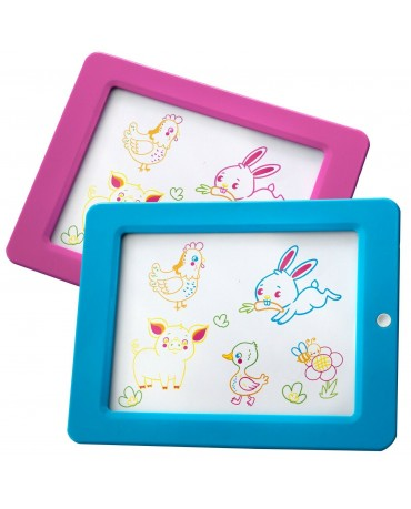 MAGIC BOARD TO DRAW LIGHT FUN TOY TABLET KIDS CHILDREN BOY GIRL